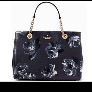 NWT Kate Spade Meena Briar Lane Night Rose Bag